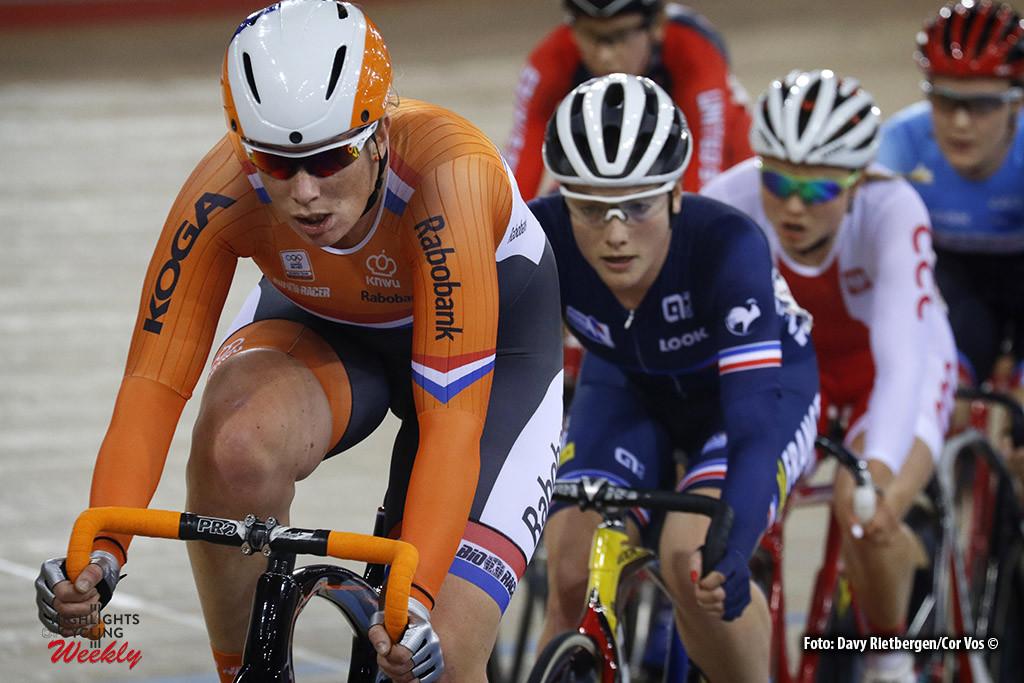 London - Great Brittain - wielrennen - cycling - radsport - cyclisme -Women's Scratch - Kirsten Wild pictured during Worldchampionships Track 2016 in London (GBR) - photo Davy Rietbergen/Cor Vos © 2016