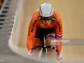 <enter caption here> during Day Five of the UCI Track Cycling World Championships at Lee Valley Velopark Velodrome on March 6, 2016 in London, England.