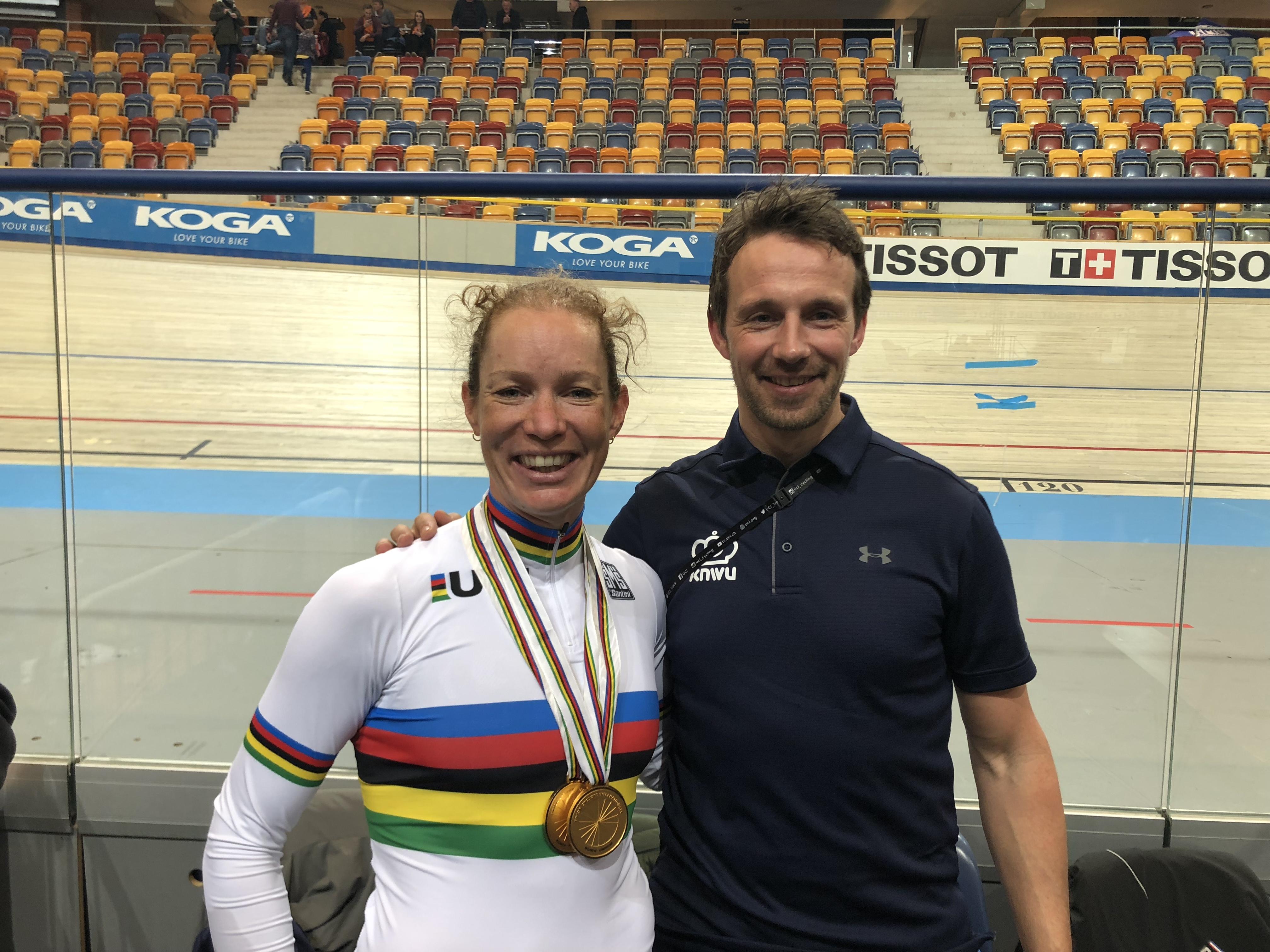 Met coach Peter Schep