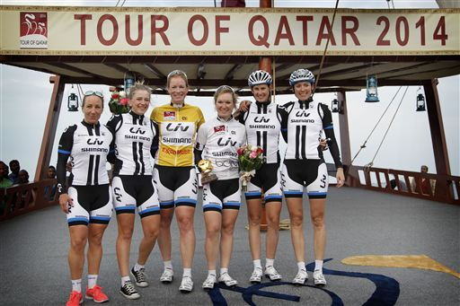 Women's edition of the Tour de Qatar stage - 4