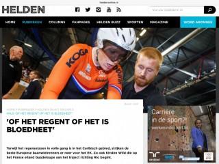 Klik op de afbeelding voor het hele interview op heldenonline.nl